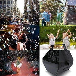 And a professional bubble machine. | 26 Totally Awesome Products That Will Make Your Life More Fun