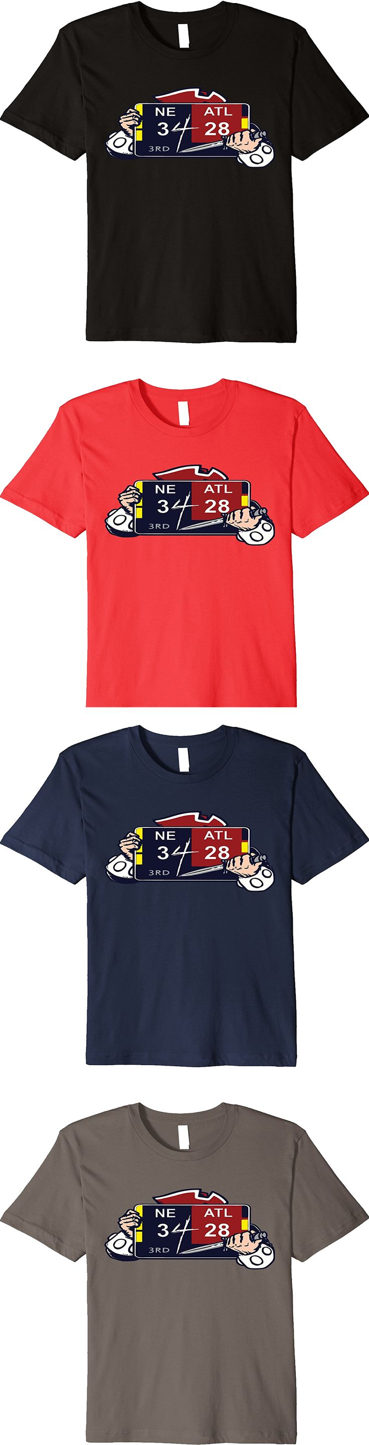 Premium New England Patriots NE 3 ATL 28 Final Score T-Shirt. Available in 5 different colors. Get yours today on Amazon.