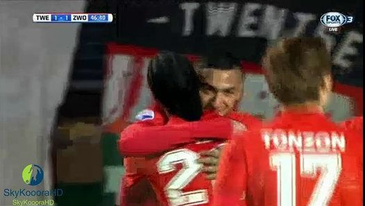 Another stunner from Hakim Ziyech vs PEC Zwolle (1-1)