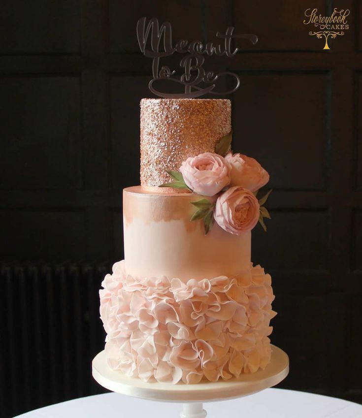 """Storeybook Wedding Cakes auf Instagram: """"Bild der vollen Torte für Caroline …   – Torta"""