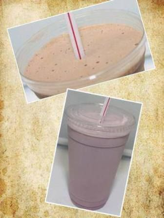 In house special for Feb 2015,  $0.75 off Butterscotch shakes..any size.