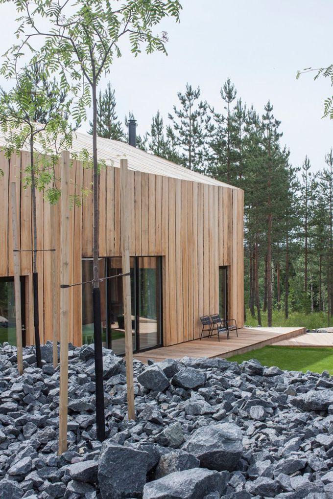 45 best ***MAISONS BOIS images on Pinterest Architecture, Small - prix extension maison 30m2