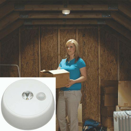 Mr. Beams kraftig LED loftslampe med sensor