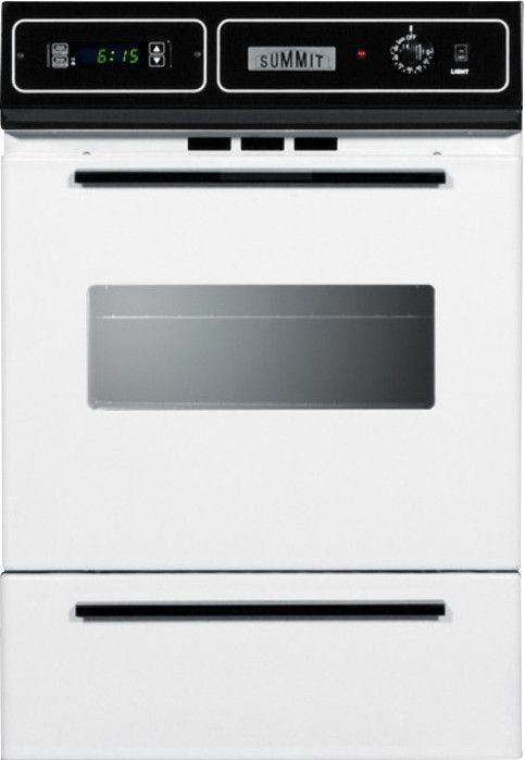 "24"" Gas Single Wall Oven"