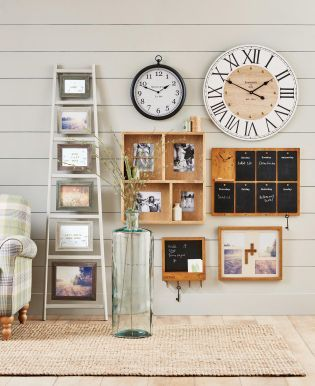 Add wooden accessories into your home interior for an instant rustic feel these are a
