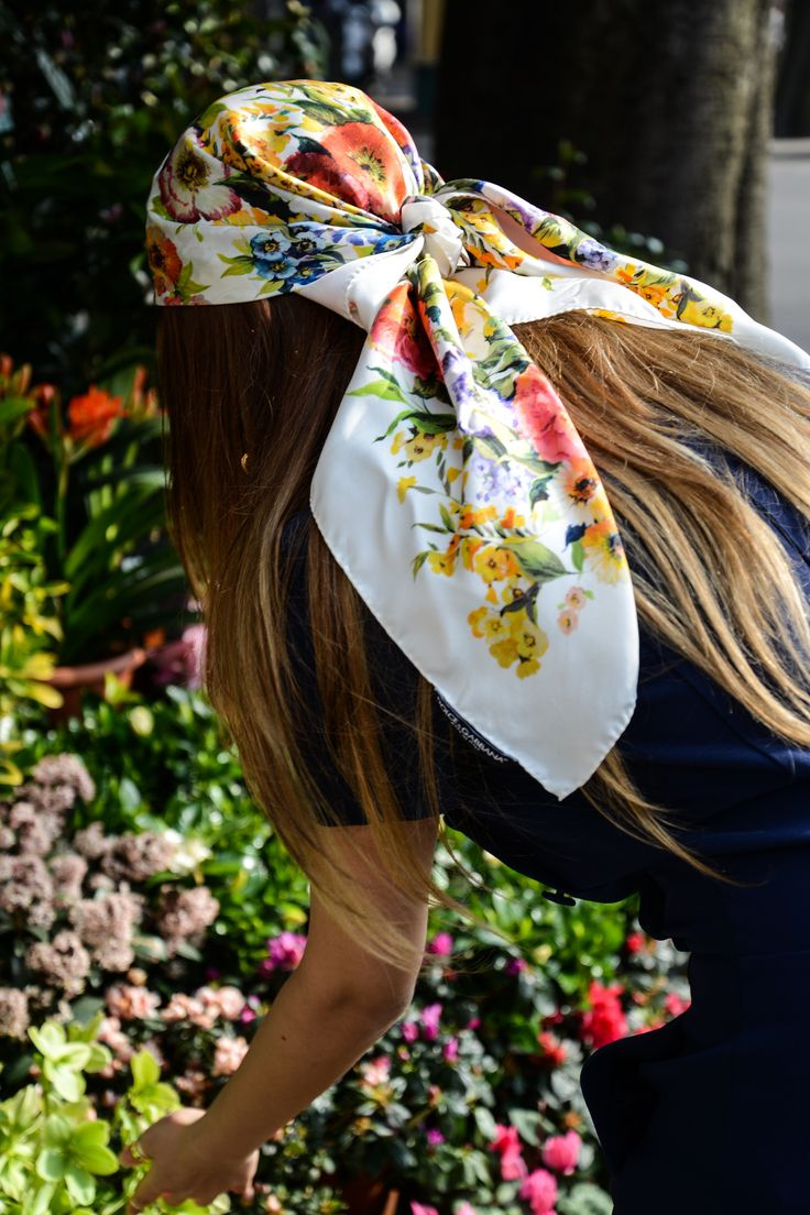 Gucci head scarf