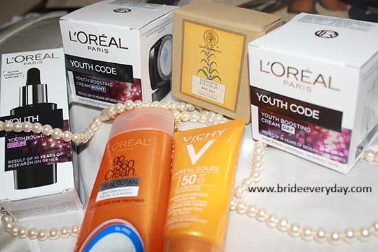 Break up of my winter skin care routine  #loreal #vichy #forestessentials