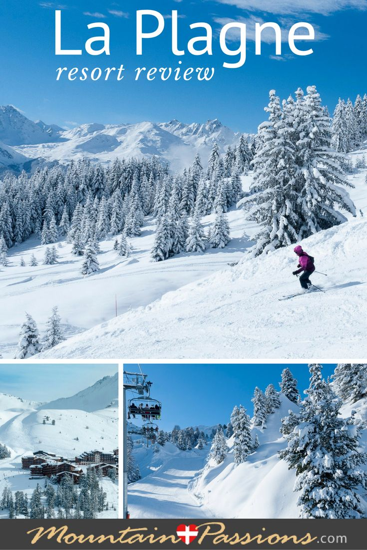 La Plagne, Paradiski, French Alps - a vast playground for skiers of all levels, snow-sure slopes and plenty of activities on and off the pistes. Especially good for ski-in ski-out places to stay.