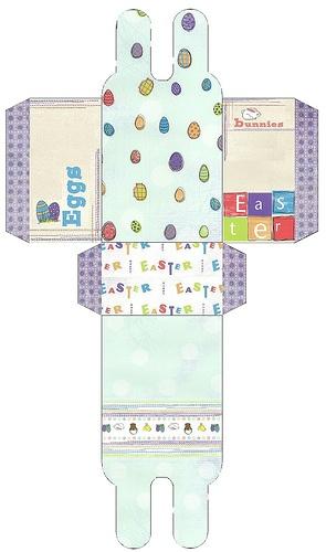707 best free easter printables images on pinterest easter crafts easter bunny bag negle Gallery