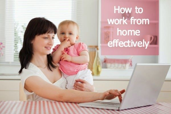 Beautifully Organised: How to work from home effectively