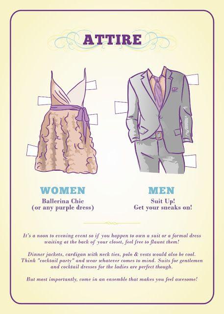 Evening Wedding Attire Etiquette