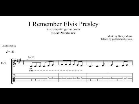 Ellert Nordmark - I Remember Elvis Presley TAB - instrumental guitar TAB - Guitar Pro TAB