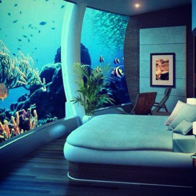 Fish tank bedroom | For the Home | Pinterest | Fish tanks, Fish ...