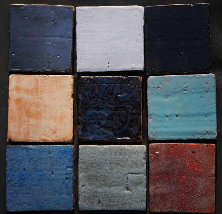 Tonplatten 15x15cm glasiert – Bodenplatten aus Keramik