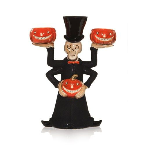 boney bunch 2009 collection | Boney Bunch 4-armed tea light holder 22.99 | Yankee Candle