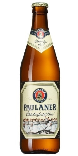 Paulaner Oktoberfest Bier - 500ml...pretty much my favorite beer