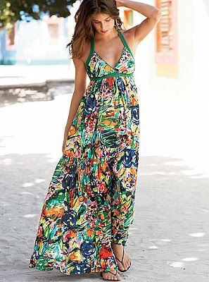 Urbanika Moda: Vestidos largos de verano / Long summer dress