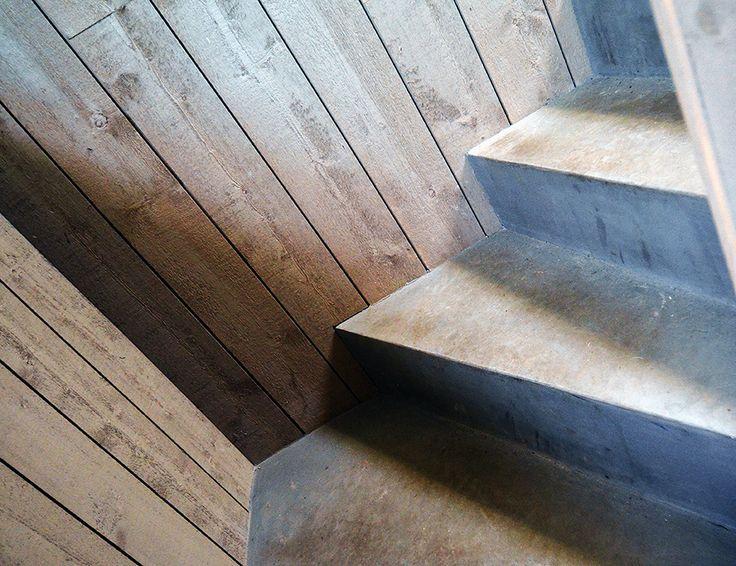 Escalier EBC Mercadier - Couleur Moket - Photographe © Patrice Le Bris