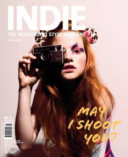 Instamatic camera for INDIE magazine