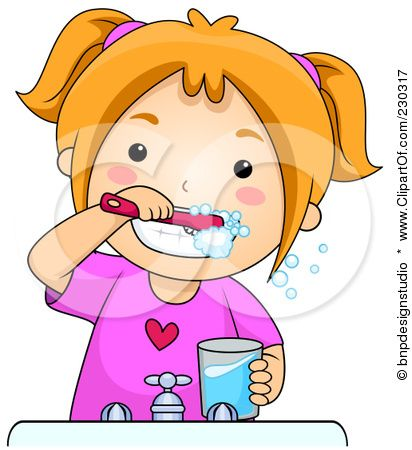 brush teeth clipart - Google Search
