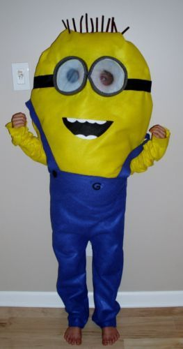 minion halloween costume despicable me toddler kids
