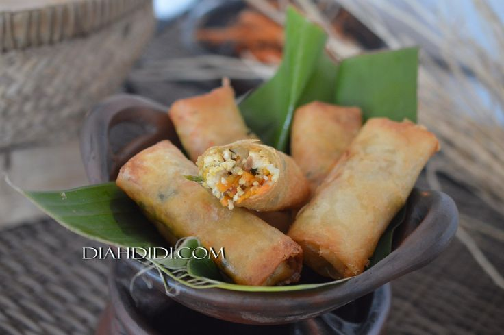 Diah Didi's Kitchen: Lumpia Sayur & Tahu