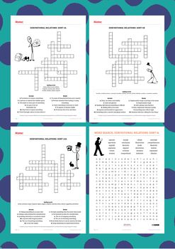 Why we think this pack is useful: We are pleased to provide a spelling pack to support vocabulary understanding for the Words Their Way spelling program. This pack contains crosswords and word searches for all 1-60 spelling lists in the Derivational Relations stage of the Words Their Way spelling program.