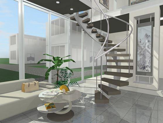 escaleras modernas interior