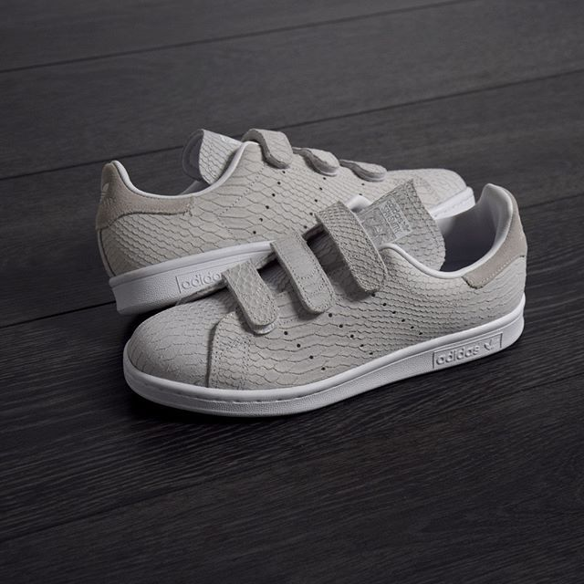 stan smith scratch grise