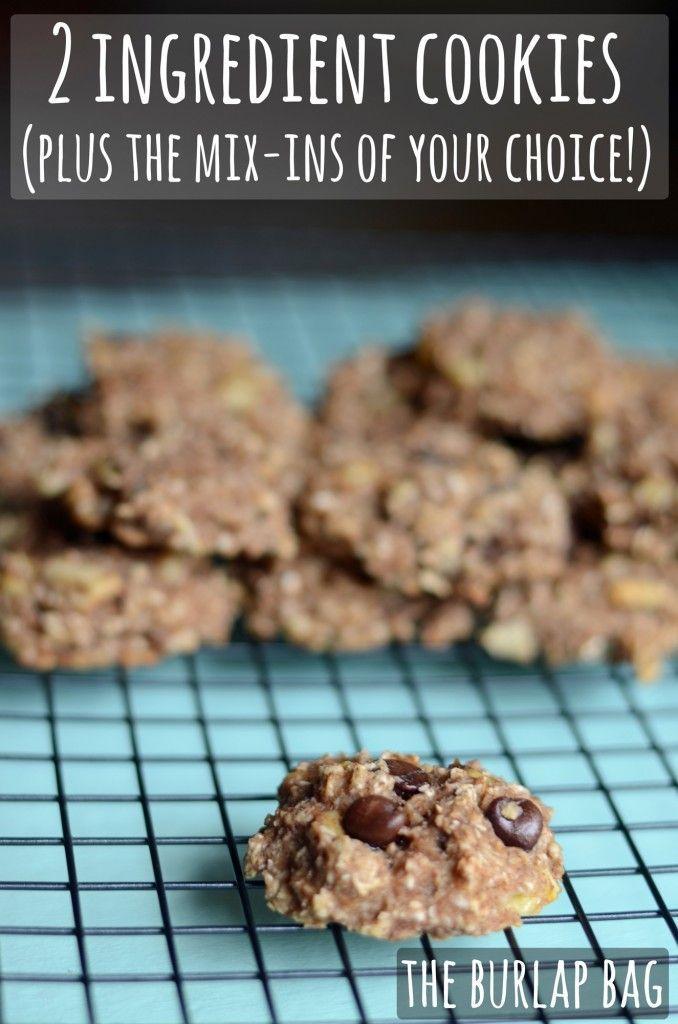 2 ingredient cookie