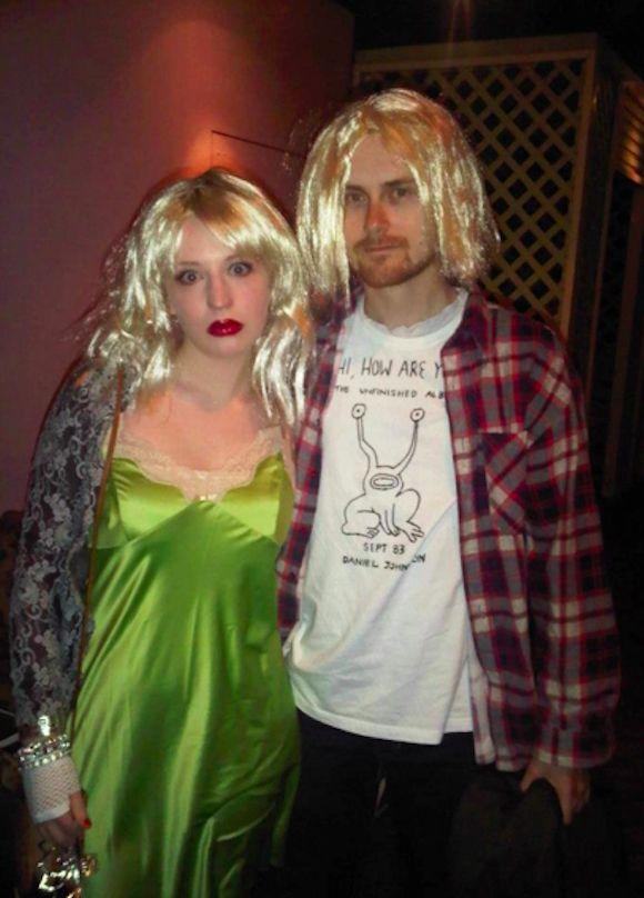 Kurt Cobain and Courtney Love Costume | Halloween | Pinterest