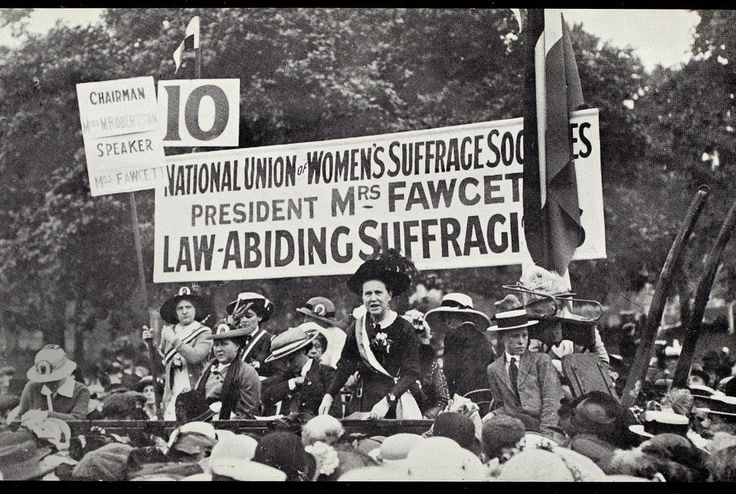 Suffragist leader Millicent Garrett Fawcett will join the ranks of 11 statesmen who have been honored with monuments there