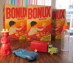 Maman achetait les paquets de Bonux par 2 pour éviter les disputes entre ma soeur et moi. Mais nous nous chamaillions pour le jouet lol!