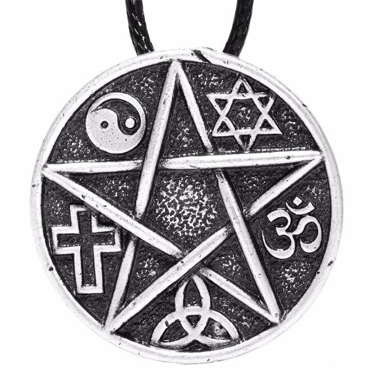 Amuleto pentaculo Ying Yang