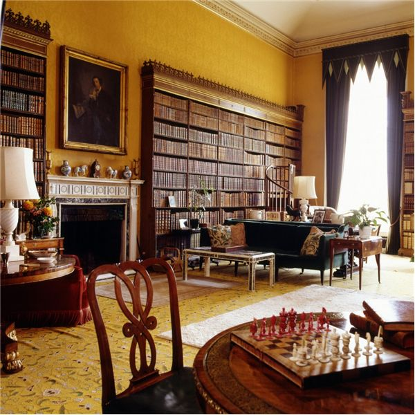 Ragley Hall ~ the library