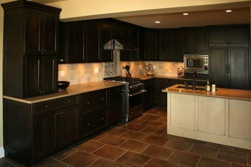 Black Kitchen Cabinets Color