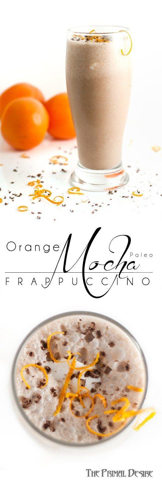 In honor of Zoolander 2: Zoolander Paleo Orange Mocha Frappuccino - quick, easy and yummy! http://theprimaldesire.com/zoolander-paleo-orange-mocha-frappuccino