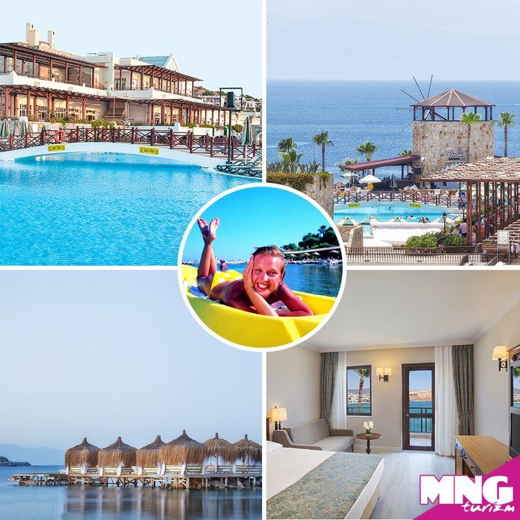 Ege'nin tüm güzelliklerini bir arada yaşayabileceğiniz WOW Bodrum Resort'da deniz,güneş ve eğlence sizi bekliyor.bit.ly/MNGTurizm-wow-bodrum-resort-s
