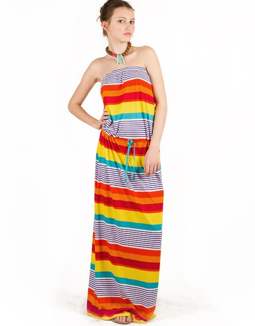 #strapless striped #maxidress with elasticated waist and lanyard! #toimoifashion #fashion #fashionable #style #stylish #summer #ss13