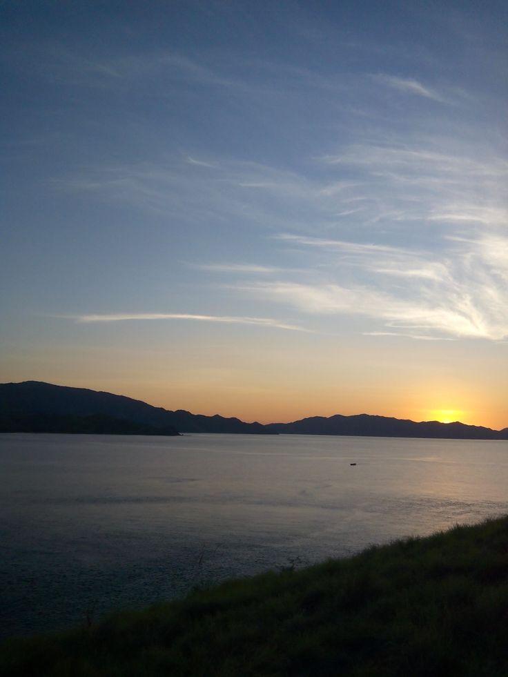 Sunrise from Gili Lawa Darat, Flores Indonesia