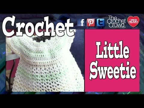 Crochet Little Sweetie Dress Tutorial (+lista de reproducción)