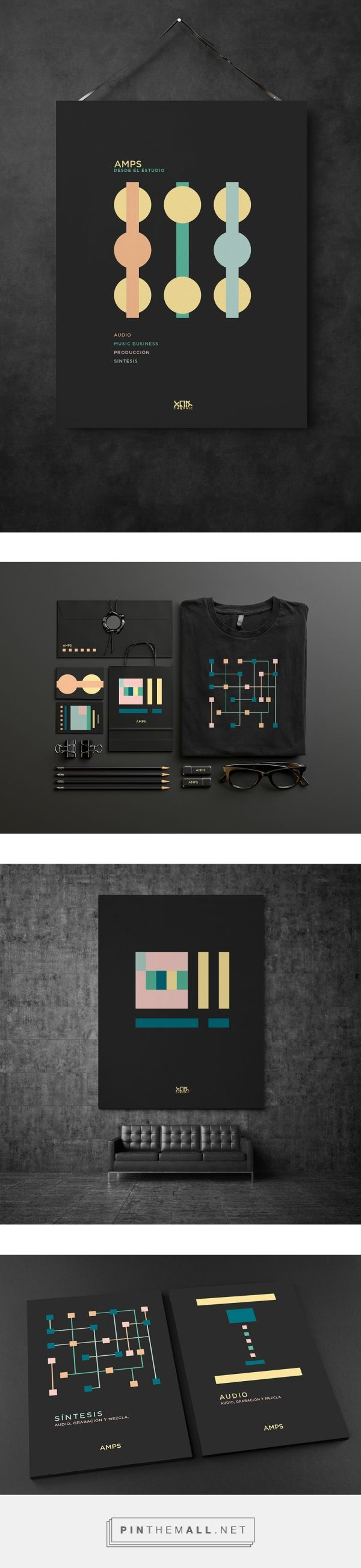 AMPS on Behance  | Fivestar Branding – Design and Branding Agency & Inspiration Gallery
