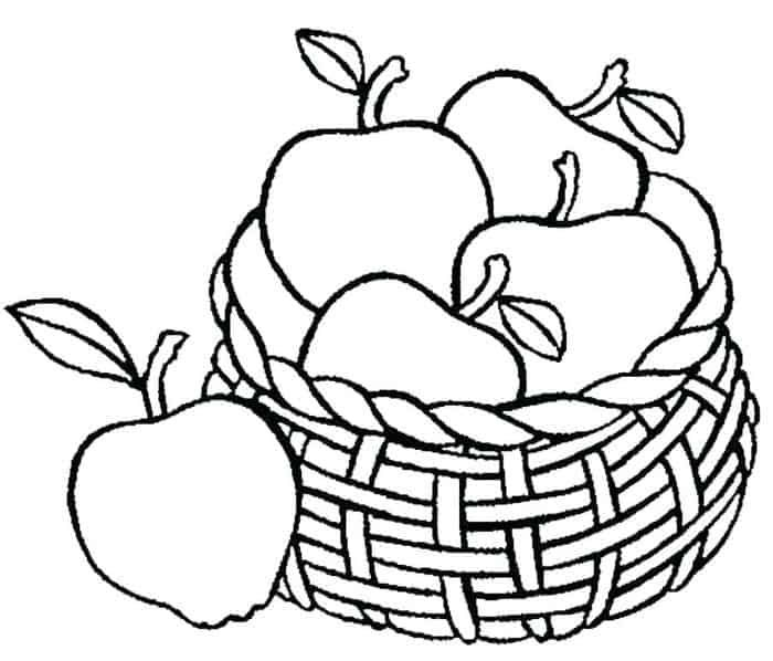 Pin On Fruits And Vegetables Coloring Pages