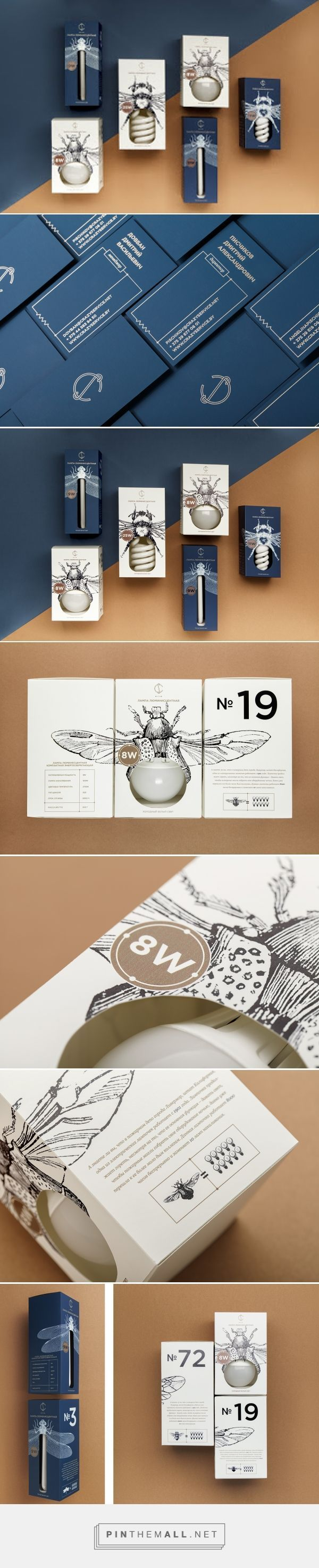 Packaging Design | Bug lightbulb packaging!