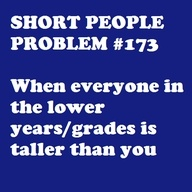 always. i swear people are having growth spurts in 5th grade!! lol