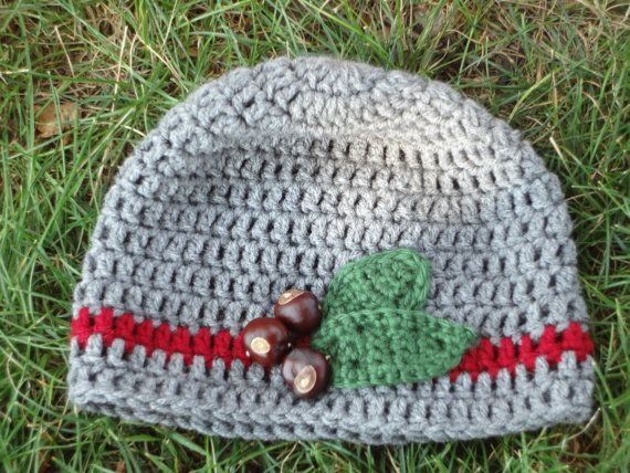 * handmade with care by a former buckeye student!  * buckeyes are from a local buckeye tree! * will fit any teen or adult  * yarn is an acrylic blend