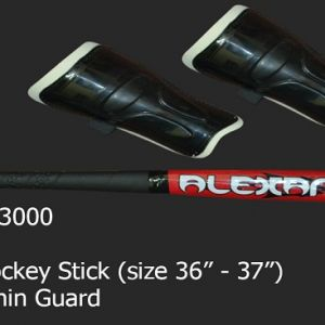 "• Set contains- 1 Pc, Hockey stick (size 36""-37"")  • 1 Pc. Turf ball, 1 Pc. shin guard on Damroobox website"
