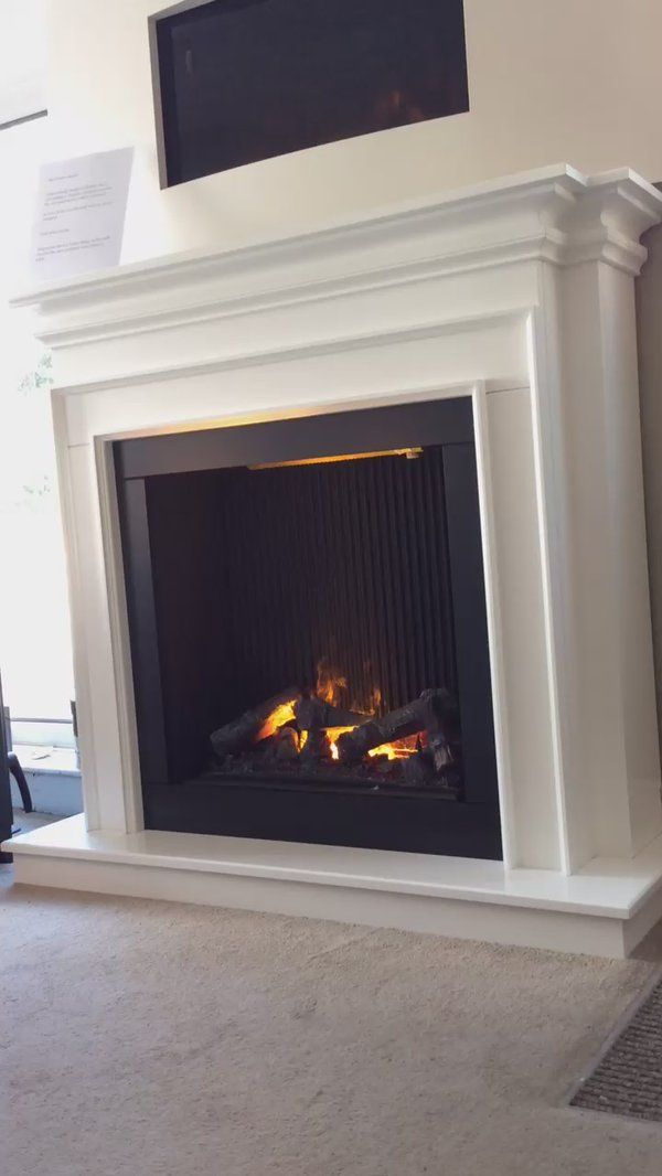 Awesome Opti myst installation by Regency Fireplaces regencystoves