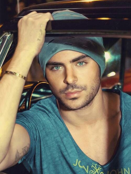 Zac Efron - Don't judge me!! LOL Have u seen The Lucky One?? Sooo hot....Those eyes ^