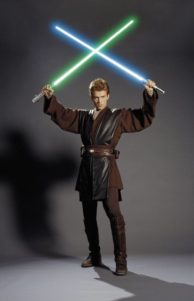Hayden Christensen in Star Wars: Episode II - Attack of the Clones- Great pic. Need it for a Halloween costume!